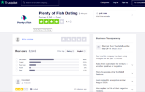 pof rating by trustpilot