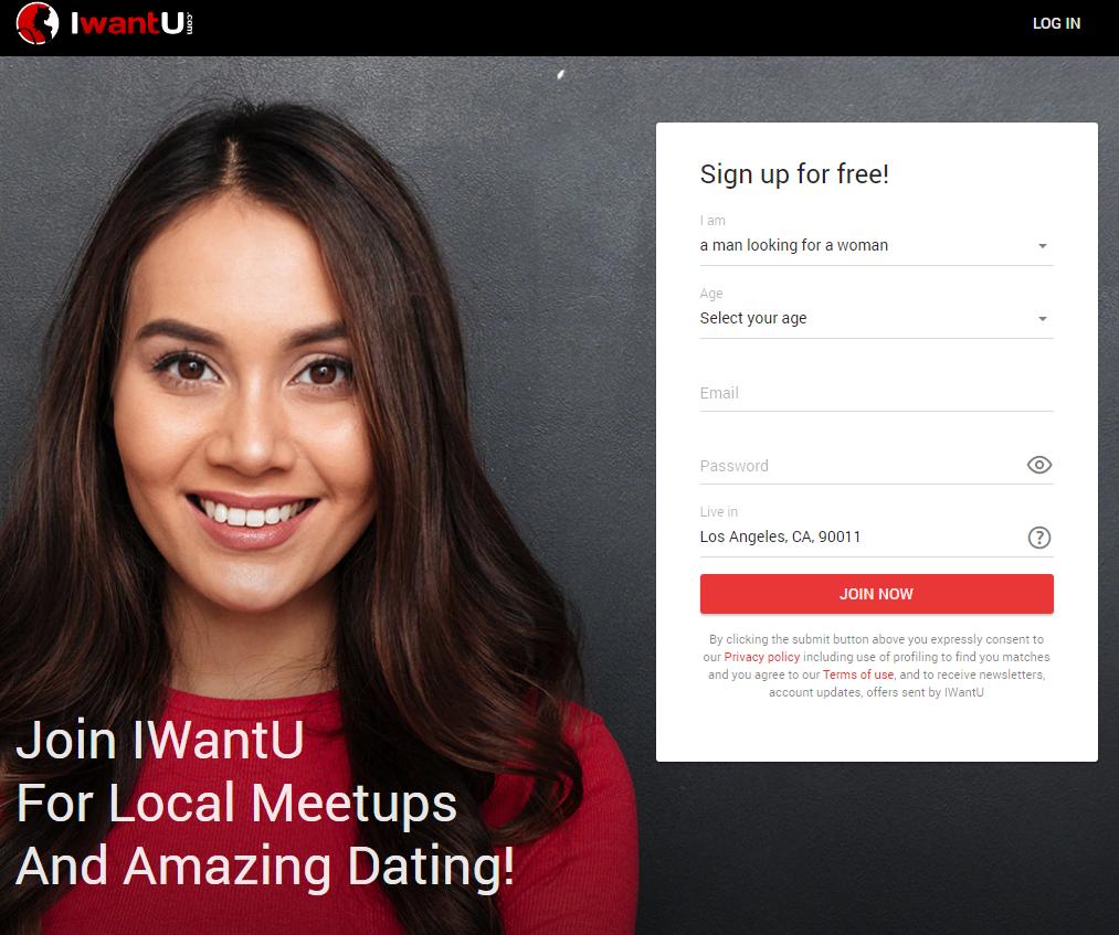 Iwantu sign up