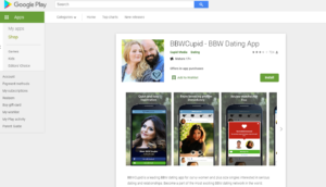 bbwcupid app rating by google