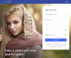 loveagain sign up