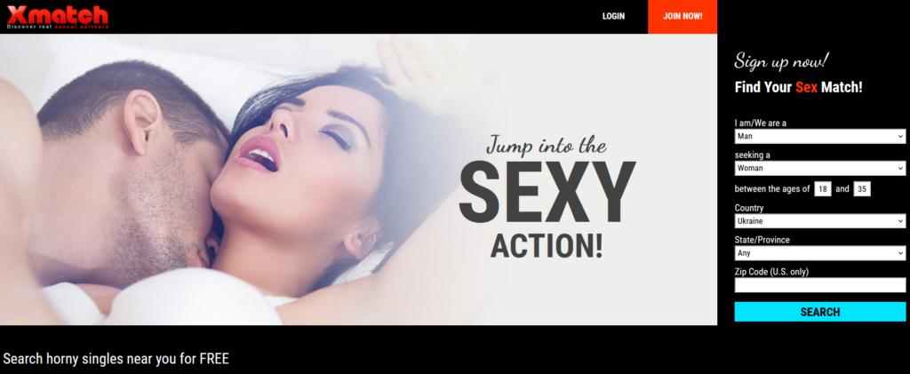 xmatch main page