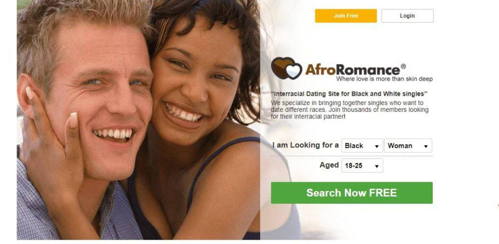 Afro Romance main page