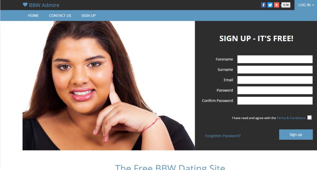 BBWAdmire.com Sign in