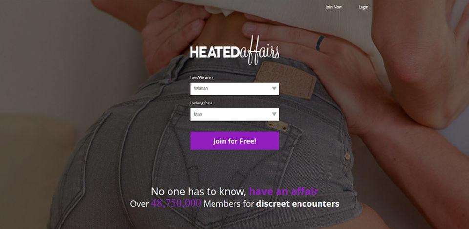 Heated Affairs main page
