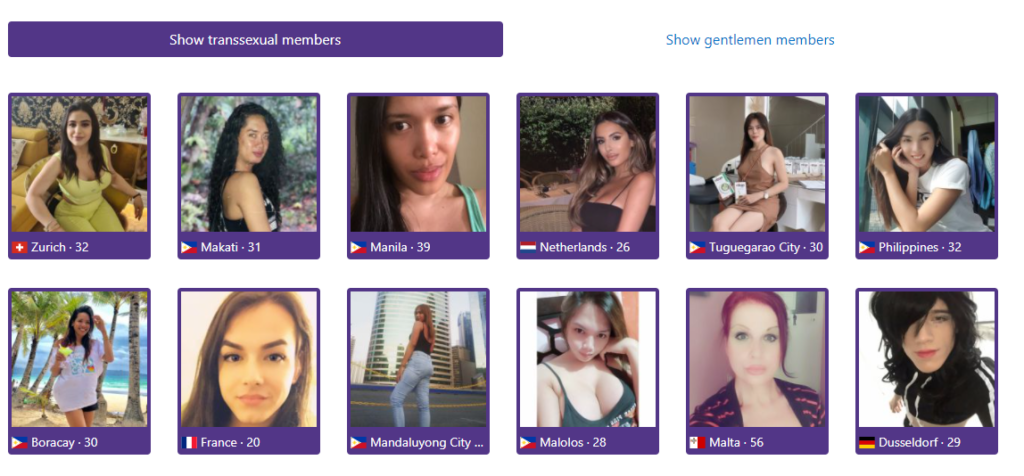 Member Structure transsexual