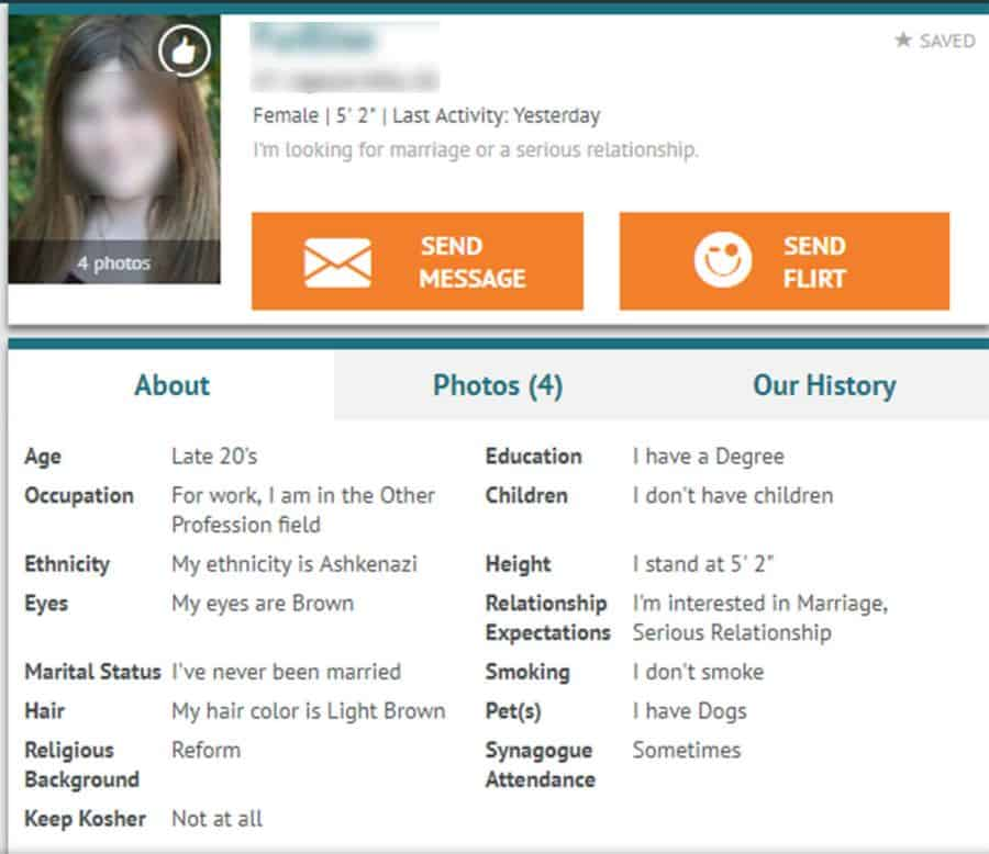 Profile Quality JPeopleMeet