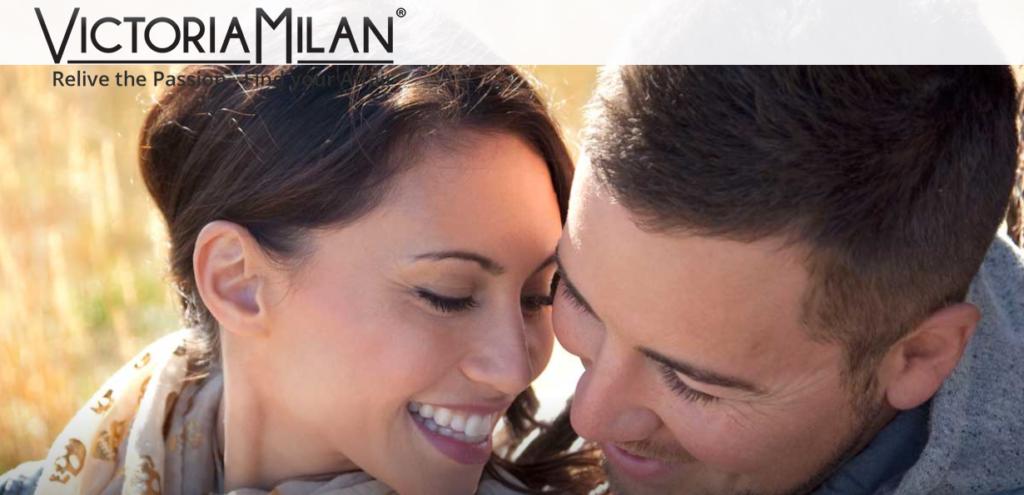Victoria Milan main page